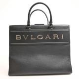 BVLGARI Bvlgari tote bag black leather