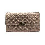 VALENTINO Rockstud Chain Shoulder Bag Pink Leather