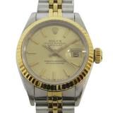 Rolex Datejust Champagne Gold 69173
