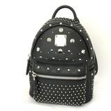 MCM Mini Backpack Black / Studs