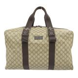 Gucci GUCCI GG Plus Boston Bag Brown x Dark 140961