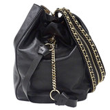 Jimmy Choo JIMMY CHOO Echo 2way bag Shoulder Rucksack Leather Black