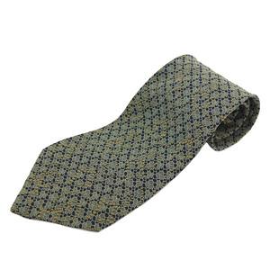 ジョルジオ・アルマーニ(Giorgio Armani) メンズ ネクタイ シルク ベージュ,ブラック,グリーン
