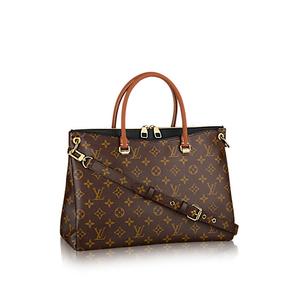 Louis Vuitton Monogram Pallas M41064 Women's Handbag Monogram