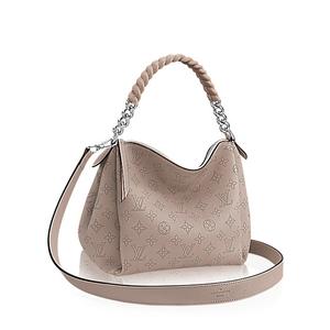 Louis Vuitton Louis Babylon Chain Bb Tote Bag Shoulder Gallelet M51224 Ladies Gray / Mahina Formal