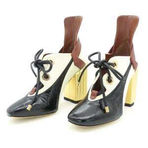 ディオール・オム(Dior Homme) レディース ブーツ (ゴールド,ブラック,ベージュ) KDP270CLCS62A