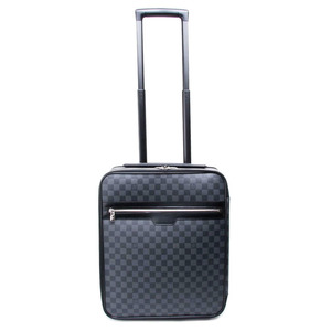 Louis Vuitton Damier Graphite Soft Case Trolley Bag Damier Graphite Pegase 45 N23302