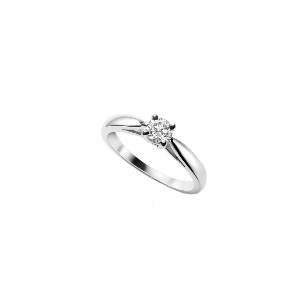 ヴァン・クリーフ&アーペル(Van Cleef & Arpels) Pt950(プラチナ) 婚約&結婚式用 ダイヤモンド リング カラット/0.3 プラチナ VCARA29100