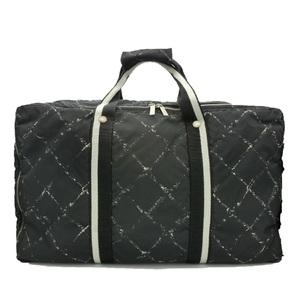 シャネル(Chanel) トラベルライン ユニセックス トラベルライン ナイロン ボストンバッグ ブラック