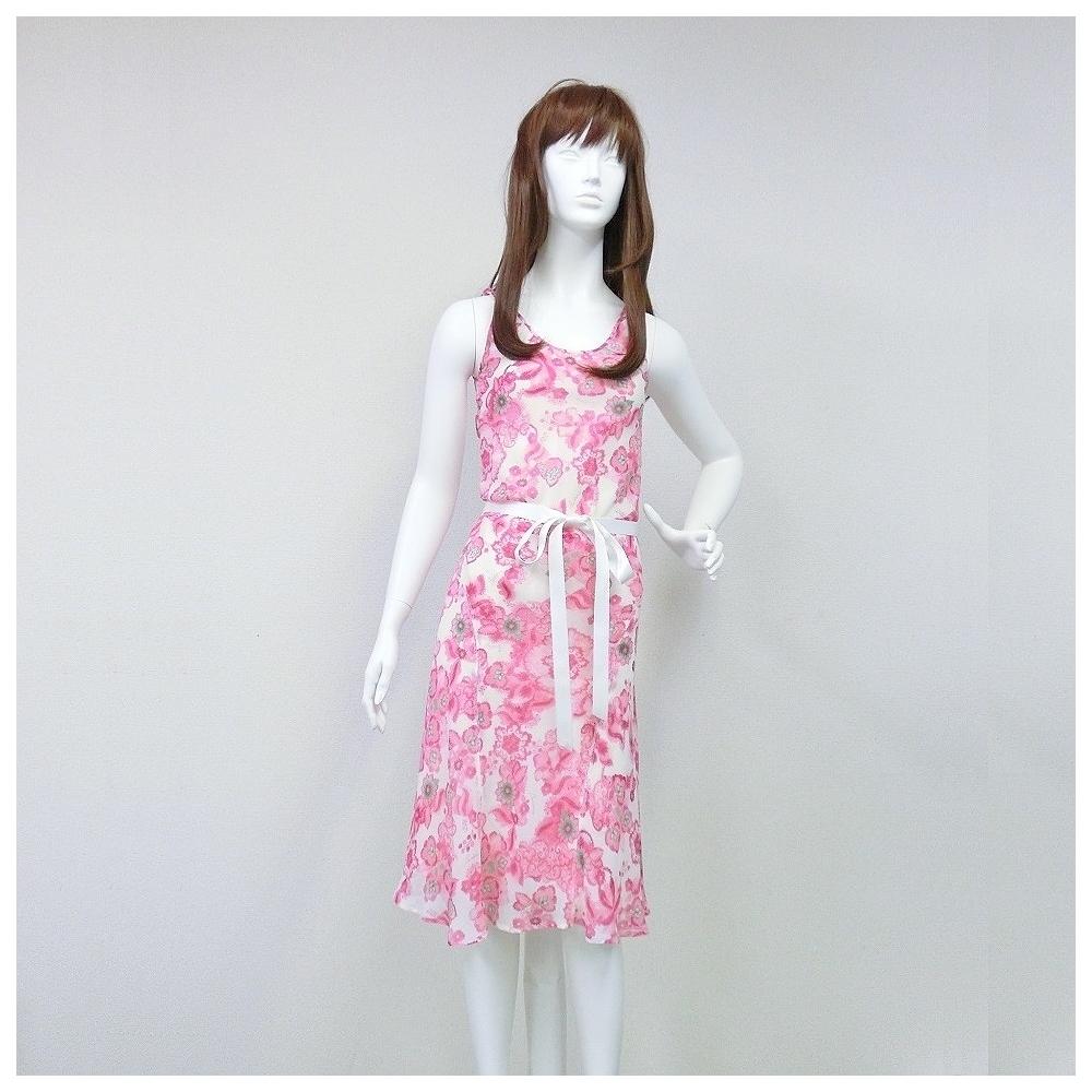 バーバリー(Burberry) レディース ビーチ Aラインワンピース ピンク