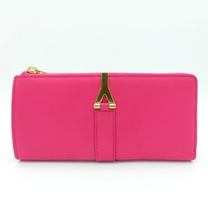 Saint Laurent 314992-1114 Women's Wallet Pink