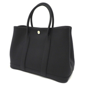 Hermes Hermes Garden Party Tpm Tote Bag Women's Negonda Black (Black) Adult Casual
