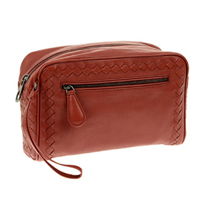 Bottega Second Bag Men's Brown 369613 / Calf Leather Adult Casual