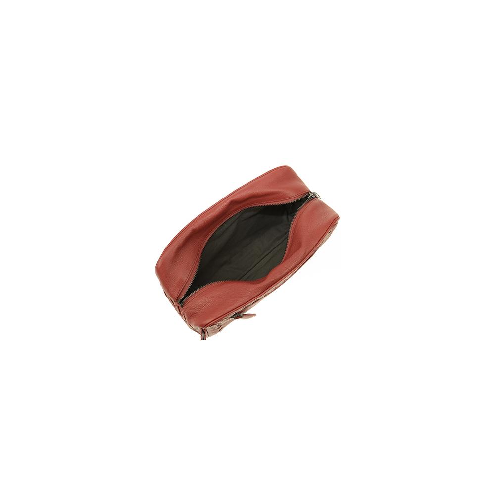 ボッテガ【Bottega Veneta】セカンドバッグ メンズ ブラウン 369613 / カーフレザー 仔牛 / 大人カジュアル  【01】