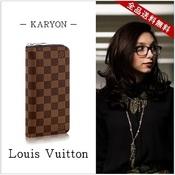 ルイ・ヴィトン(Louis Vuitton) ダミエ N61207 ユニセックス エベヌ 財布