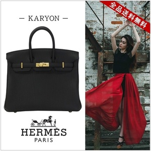 Hermes Hermes Bag Handbag Birkin Women's Black / 25cm Togo Gold Hardware Simple Elegant Business Ceremonial Leather Genuine Formal Large Capacity
