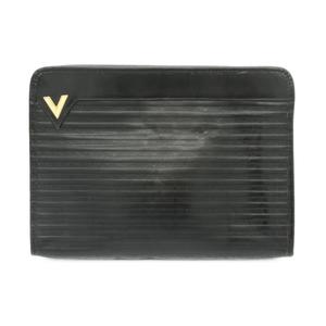 ヴァレンティノ(Valentino) マリオ バレンチノ【MARIO VALENTINO】バッグ クラッチバッグ レディース / セカンドバッグ ブラック ヴィンテージ ヴァレンティノ メンズライク【中古】