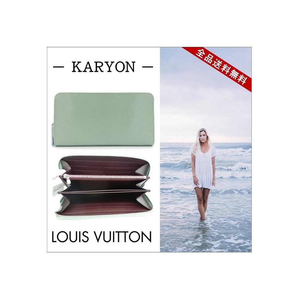 ルイ・ヴィトン(Louis Vuitton) エピ M60313 レディース ライトグリーン フォンウォレット