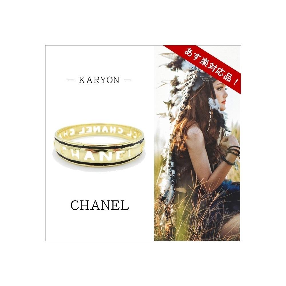 シャネル(Chanel) 合金 バングル ゴールド