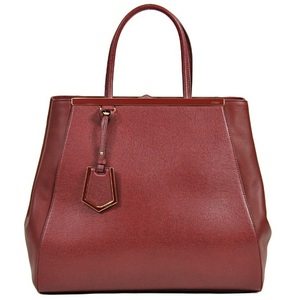 Fendi Bag Handbag Women Bordeaux Red / 2 Jours To Jules 8 Bh 251 Burgundy Wine Leather Genuine Simple Present