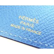 エルメス(Hermes) エルメス HERMES ベアン 4連 キーケース 鍵入れ 小物 ブルーパラダイス ブルー系 ゴールド金具 ヴォーエプソン レザー T刻印 ユニセックス  【15】 【中古】【アウトレット】