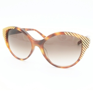Chloé Chloe Sunglasses Ladies' Brown / Cl2247 A Gradient Tortoiseshell Pattern Frame Adult Casual