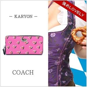 コーチ(Coach) F52563 レディース ピンク 財布