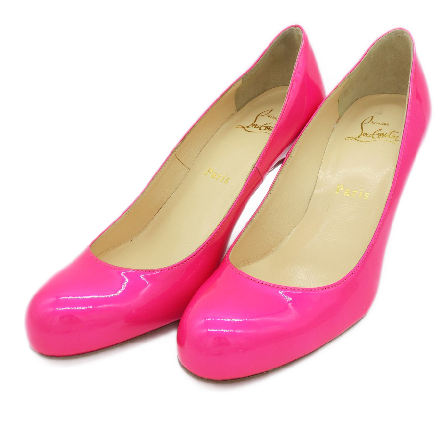 online store 920fd 75638 Details about Christian Louboutin Women's Pumps (Pink) Used