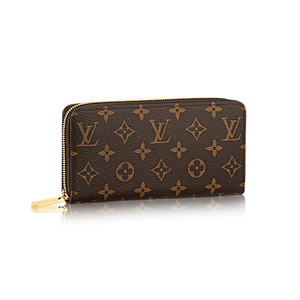 Louis Vuitton Louis Monogram Zippy Wallet M41895 Round Zipper Long Purse Women's Pink Fuchsia Canvas Adult Casual