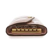 Louis Vuitton Monogram Vernis Monogram Vernis Key Case Rose Ballerine M61233 6 Key Holder