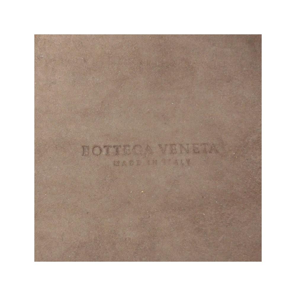 ボッテガ・ヴェネタ(Bottega Veneta) イントレチャート レディース イントレチャート ハンドバッグ バイカラー,ダークブラウン,イエロー