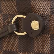 ルイ・ヴィトン(Louis Vuitton) ダミエ N41359 レディース バッグ エベヌ,ブラウン,ダミエ