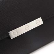 カルティエ(Cartier) カルティエ【Cartier】財布 長財布 LOVE ラブ L3001375 メンズライク 黒 サイフ ウォレット ブラック【23】 【中古】 【アウトレット】