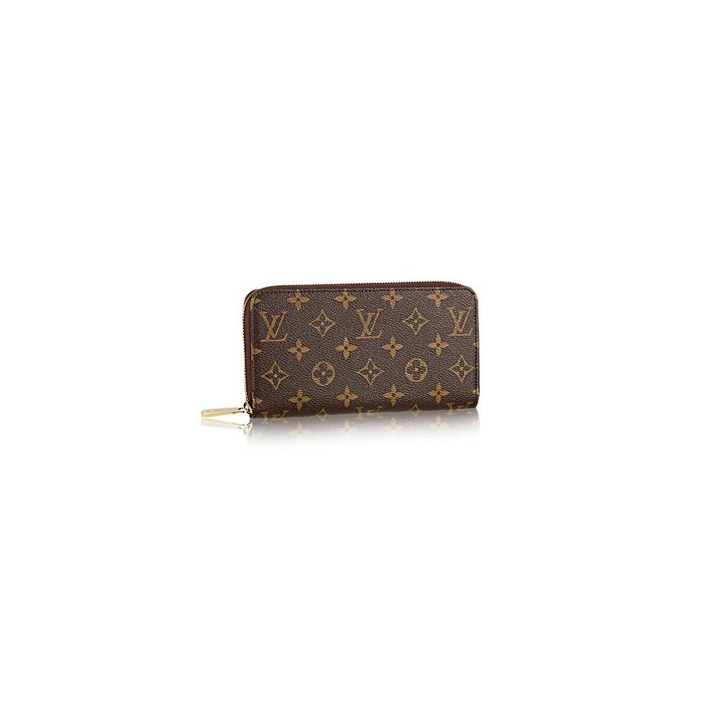Louis Vuitton Zippy Wallet Zip Around Long Wallet Monogram M60017