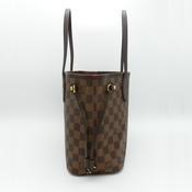 ルイヴィトン Louis Vuitton トートバッグ レディース ブラウン ダミエ ネヴァーフルPM エベヌ N51109