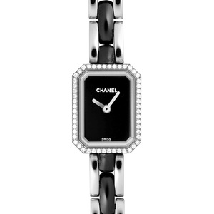 Chanel Premiere Quartz Stainless Steel Women's Dress Watch H2163