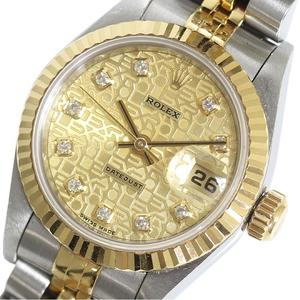Rolex Datejust Automatic Stainless Steel Women's Watch 69173G