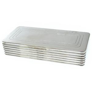 Dunhill Cigarette Case Silver