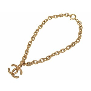 Chanel Metal Women's Chain Necklace (Gold)