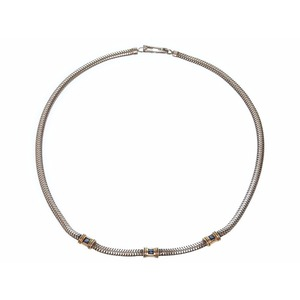 Tiffany Silver 925,Yellow Gold (14K) Sapphire Women's Necklace (Blue,Gold,Yellow Gold)