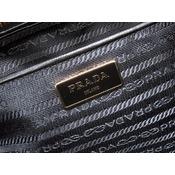 bf1b0a61c3b1 Prada Nylon Quilting Chain Tote Bag Bl0903 Purple 0035 As New ...