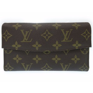 Louis Vuitton Monogram Women's Wallet Brown