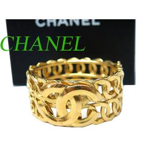 Chanel Metal Bangle Gold