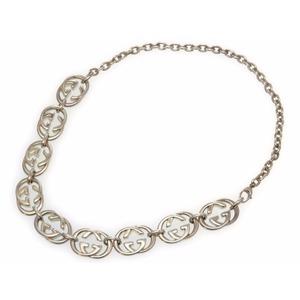 Gucci Silver 925 Unisex Chain Necklace (Silver)