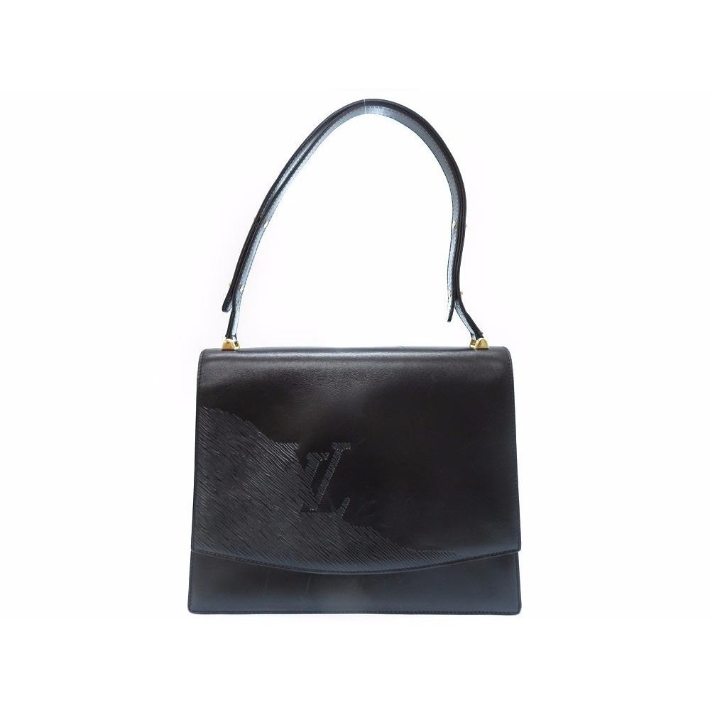 8d7e51ae9b1 Louis Vuitton Opera Line Delf M63932 2way Bag Handbag Leather Noir ...