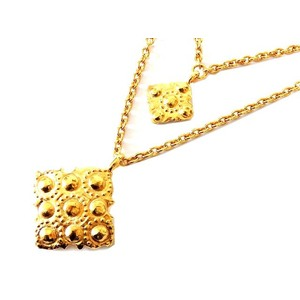 Chanel Metal Necklace (Gold)