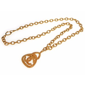 Chanel Metal Women's Necklace (Gold)