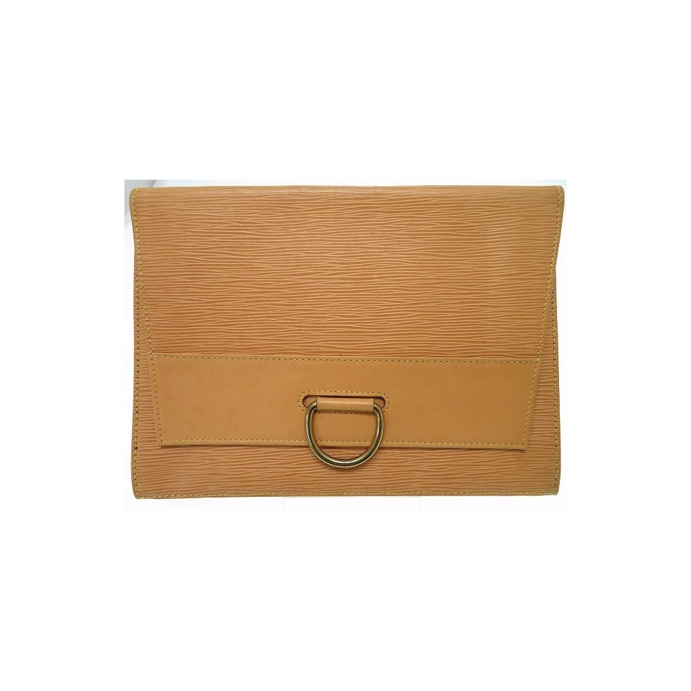 ee7a82ca73e Louis Vuitton Second Bag Jena M52726 Clutch Epin Winnipeg Beige Solid Less  0006