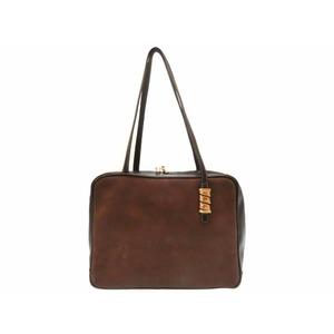 Loewe Leather Women's Leather Handbag Black,Brown