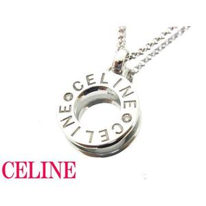 Celine White Gold (18K) Diamond Necklace (Silver)